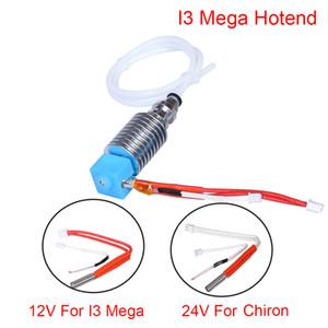 Günstige 3 Druckerteile Zubehör 5 J-Kopf Hotend Kit E3D Bowden Extruder V5 Heizblock 12 / 24V Für Anycubic I3 Mega / Chiron 3D