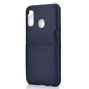 Coque Pour Samsung Galaxy M30 / A10 / A20 / A20E / A30 / A40 / A50 / A70 / A80 / A90 / J2 de base de cas de luxe couverture arrière avec porte-cartes Cas Covers