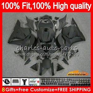 OEM iniezione per HONDA CBR600RR CBR 600RR 600F5 600cc nero opaco 74HC.16 CBR 600 RR F5 09 10 11 12 CBR600 RR 2009 2010 2011 2012 carenatura