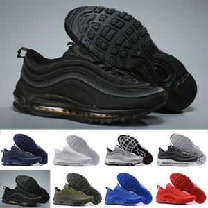Nike air max 97 Freie Verschiffen Freigabe Sean 1 VF SW hybride beiläufige Schuhe für Mann-Frauen-authentische Mehrfarbensport-Turnschuhe Größe 40-45