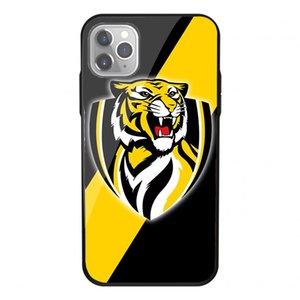 Закаленное стекло Case Soft AFL команды Логотип Hard Funda чехол для iPhone 11 Pro XS Max 7 8 Plus 6 6S Plus 5S 5 Задняя крышка для печати Batman Phone Case