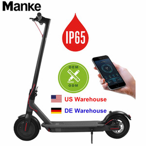 Germany Stock Electric Hoverboard 8.5 Inch Bluetooth Skateboard Steering-wheel Smart 2 wheel Self Balance Car Standing Scooter APP Control