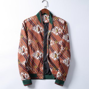Wholesale-New autumn and winter men's coat 3D printed men's fashion baseball jacket bomber jacket men's jacket