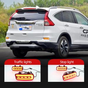 Car Light LED Refletor Pára-choques traseiro lâmpada para Honda CRV CRV 2015 2016 luz de nevoeiro traseira da luz de freio condução