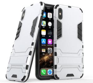 아이폰 11 프로 맥스 X XR XS 최대 8 7 6 7 6S 플러스 5S S10 NOTE 10 A50 A70 TPU + PC 다시 앞뒤로 커버 아머 홀더 (113)를위한 하이브리드 전화 케이스