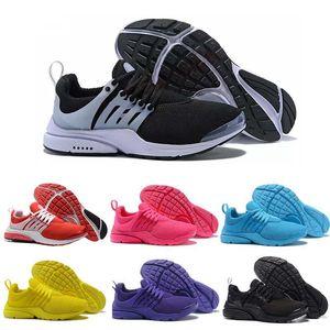 2020 PRESTO BR de los zapatos corrientes Breathe Zapatos Negro Amarillo Blanco Rojo Azul Hombres Mujeres Deportes Presto Ultra Caminar Formadores zapatillas de deporte 36-45 Eur