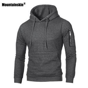 Mountainskin Men's Hoodies Spring Autumn Sportswear Long Sleeve Casual Hooded Coat Mens Brand Clothing Male Sweatshirt 4XL SA519 T200530