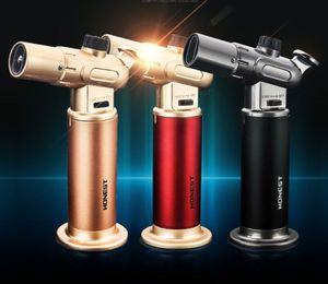 Düz çift hafif reklam şişme yüksek sıcaklık püskürtme tabancası / tek bir alev laboratuar, kaynak, inşaat için bütan