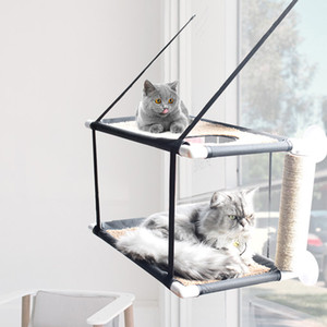 balcone amaca cuscinetto 20kg Soleggiato sede animale domestico impermeabile letto in tessuto Cat arrampicata dormire materasso singolo doppio strato T200101