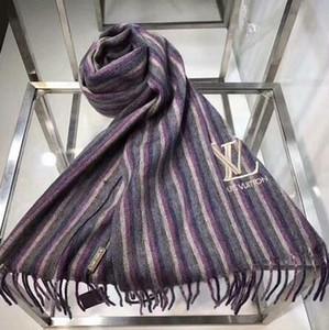 Luxus-Winter-Schal für Frauen Marke Designer Markemens-Schal Mode Damen bunte Buchstaben Designer Winter warmen Blume Schal w2 12