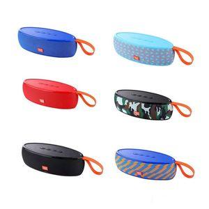 TG105 TG113 TG117 Haut-parleur Haut-parleurs sans fil Bluetooth Caissons de basse mains libres Mini profil de profil d'appel Support stéréo Carte tf USB