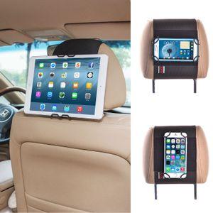 TFY العالمي الذكي اللوحي سيارة مسند رأس جبل حامل - باد فون 4/5 (S) اي فون 6 / 6S (زائد) وغيرها من 4-11 بوصة أقراص
