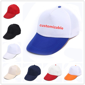 18 Renkler Unisex Düz Beyzbol Kap Topu Katı Boş Visor Ayarlanabilir Şapka Katı Spor Visor Güneş Golf Topu Şapka Acept Custom Made