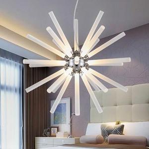 Modern Acrylic Bubble Chandeliers Light Dandelion Minimalist LED Pendant Lights For Shop Bar Dining Kitchen Room Led pendant light AC85-265V