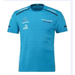 Explosive team di F1 Williams Russell a maniche corte abiti da lavoro T-shirt in bicicletta da corsa vestito 2019 stagione nuova ad asciugatura rapida traspirante
