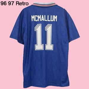 Wholesale 1996 1997 Glasgow Rangers retro soccer jersey 96 97 Laudrup McCoist Gascoigne ALBERTZ classic vintage football shirt SIZE S-XXL