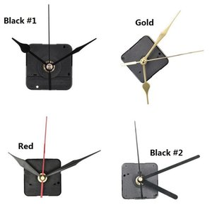 Diy Часы Механизм Бесшумный Non -Ticking Кварцевые часы Круглый настенные часы движение Механизм Ремонт по замене Необходимость Инструменты