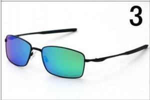 Venta al por mayor de montar bicicletas cuadrado gafas de sol polarizadas los hombres Gafas de sol retro rectangulares deportivos de protección UV400 gafas de conducción de Verano 4075