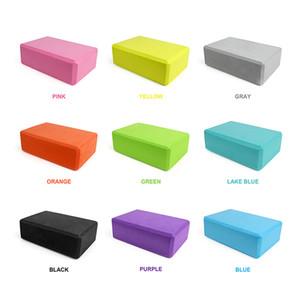 Cheap Blocks Yoga Block Props Foam Brick Stretching Aid Gym Pilates Yoga Block Exercise Fitness Sport