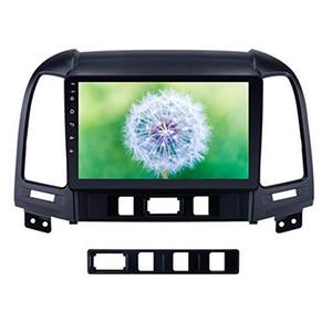 Stereo sistema di navigazione GPS autoradio Auto 9 pollici Android 9.0 per Hyundai Santa Fe 2005-2012