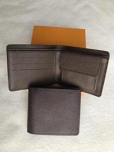 2020 Markenmappe Designer Leder Männer kurze Brieftasche Brieftasche mit Kasten, Rahmen Staubbeutel Handbuch Eine Vielzahl von Stilen