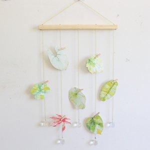 New madeira Hanging vara Exibição de fotos Macrame Wall Hanging Pictures Organizer Home Decor com clipes de madeira cartão postal