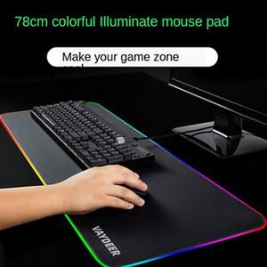 "Kablosuz Mouse Pad Şarj Ekstra Büyük RGB Gaming Mouse Pad 30.7 ""x 11.8 ''"