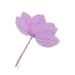 200pcs yapay çiçekler simülasyon yaprakları gül sahte ipek çiçek dekor 3 * 5cm z #