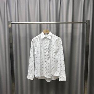 20ss new shirt brand new acid and vinegar fabric soft skin feel vertical st1rong custom original accessories versatile ml XL XXL spot sale83