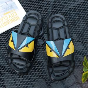 Glazov Männer Flip Flops Strand Flache Sandalen Designer Hausschuhe Sommerschuhe Mode Slides Gummi Clogs Größe 40-45 Zapatos Hombre