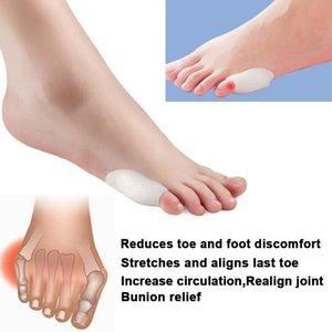 Yeni Kadınlar Parmak Ayırıcı Bunionette Parmak Ayak Şişi Düzeltici Burun Jel Ayırıcı kolaylaştırır Nasır Ayak Bakımı Ürün