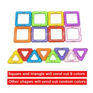 136 piezas bloques de construcción magnética imán diseñador educativo construcción juguetes para niños regalo