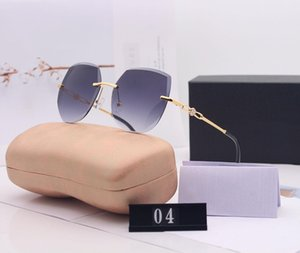 C Letter Designer Sunglasses Brand Woman Sunglasses Beach Glasses UV400 Model 04 5 Color Highly Quality with Box1