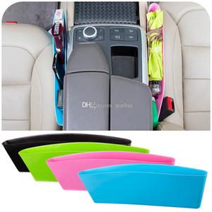 New Auto Car Seat Console Organizer Side Gap Filler Pocket Organizer Storage Box Bins Bag Pocket Holder 4 Colors WX9-292