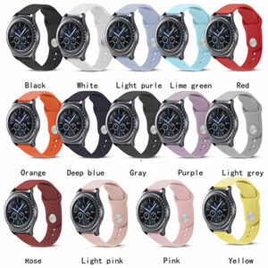 Aktif Huawei Huami 2 için Samsung Galaxy İzle 42mm 46mm Active2 40/44 Dişli S3 Kayış Band 20mm 22mm Silikon Watchband