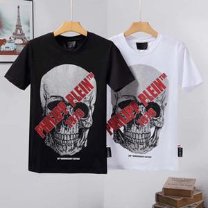 2020 PP 3D T-shirt noir et blanc court tunnel contrôlé manches, garçon d'été hip hop tendance d'impression drôle de personnalité T-shirt
