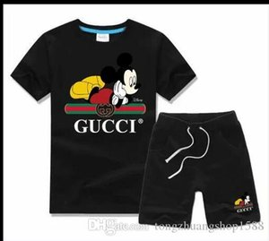 Logo DesignerLuxary Kids Sets Baby Boys And Girls Baby Infant Boy Designer Clothes 2Pcs set Cotton Summer Short Sets g6
