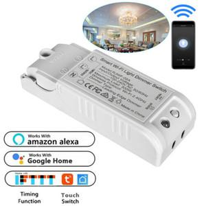 새로운 스마트 와이파이 벽 빛 와이파이 스위치 APP 제어 없음 허브 작품에 대한 알렉사 구글 DGA 스마트 무선 랜 스위치 3C25
