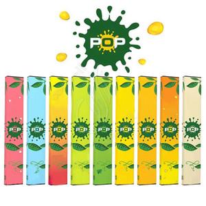 POP Tek Cihaz Bakla Başlangıç Seti 280mAh Pil 1.2ml Kartuşları Vape Kalem Taşınabilir e Cigs Sigaralar buharlaştırıcılar poğaçalar Perakende Buhar