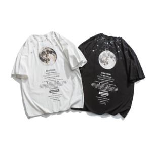 Luxury Mens T Shirts Summer Brand Loose Tees Shirt Casual Pattern Print For Mens Streetwear Clothing Luxury Tops Fashion T Shirts iiceec