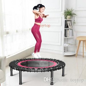 Adult Trampoline Home Elastic Rope Bounce Bed Indoor Fitness Sports Equipment Sucker Armrest Trampoline Free Shipping