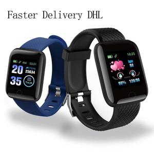 Commercio all'ingrosso della vigilanza D13 intelligente Orologi 116 Inoltre cardiaca smart watch Wristband di sport del braccialetto della fascia A2 impermeabile Smartwatch Android