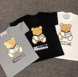 Short Sleeve Shirts Cartoon Toddler Baby Kids Cotton Tops T-shirt kids designer clothes girls boy Summer Cotton T Shirt 80cm -140cm