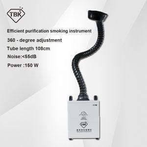 TBK eficiente instrumento de purificación de fumar soldadura Cleaner Limpiador de humo Extractor de aire Filtro de polvo de sala limpia