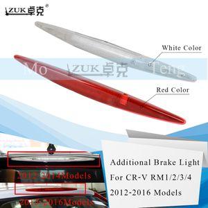 ZUK Yüksek Ek Arka Üçüncü Fren Işık Stop Lambası için Honda CR-V CRV 2012 2013 2014 2015 2016 2017 Beyaz / Kırmızı Renk Monteli