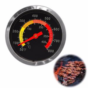 في الهواء الطلق الشواء الفولاذ المقاوم للصدأ العرض ميزان الحرارة الشواء الشواء BBQ حفرة مدخن الشواية درجة الحرارة قياس درجة الحرارة وسيطروا