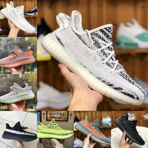 2020 Adidas Yeezy 350 Boost sply 350 V2 Yeeyz Boots reflectante 3M Kanye West V2 Calzado casual Oreo lino ZYON lino Hombres Mujeres Entrenadores zapatillas de deporte