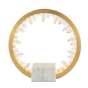 new living room decoration crystal table lights gold bedside lamp wideth 36cm
