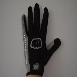 MOREOK Außensportausrüstung Waschbar Mikrofaser Anti-Rutsch-Frauen Fahrrad-Handschuhe In vollen Fingern
