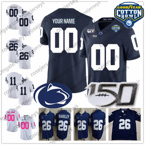 Пользовательские PSU Penn State Nittany Львы футбол Джерси Шон Clifford KJ Hamler Джахан Ной Cain Dotson Парсонс Freiermuth Форд Cotton Bowl 150-й